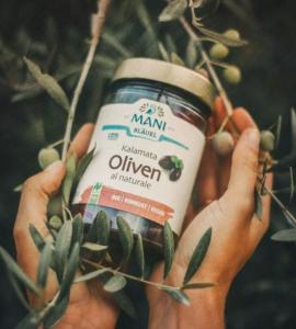 Kalamata Oliven al naturale bio Rohkost vegan