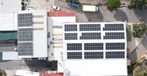 PV Panele nun auf beiden Gebäuden